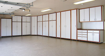 NW Garage Cabinet Co - Cabinets in garage